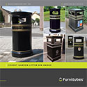 Traditional Cast Litter Bins by Furnitubes