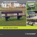 Recycled plastic seating Range Brochure