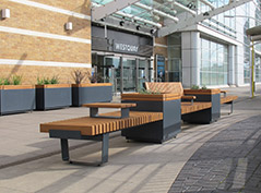 Westquay Street Furniture