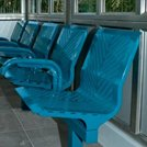 New seating range for indoor and outdoor use