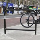 Looking for a hardwearing finish for cycle stands?