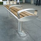 Zenith Removable Bench for Wimbledon Station