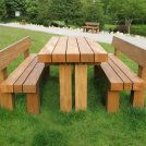 Enhance landscapes with timber products