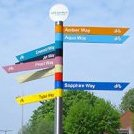 The importance of directional signage for schemes