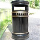 The benefits of cast iron litter bins
