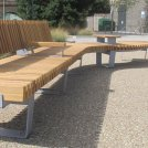 Furnitubes launch new RailRoad modular bench and seating range at Landscape 2015