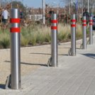 Update any site with stunning stainless steel street furniture