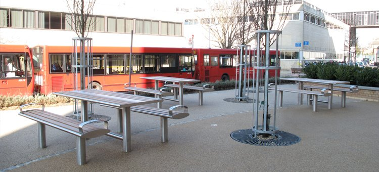 Outdoor Furniture For Hospitals And Healthcare Centres From Uk Supplier Furnitubes