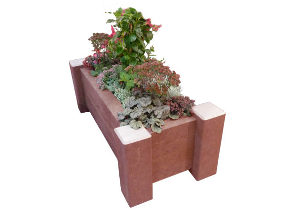 Aberdeen Outdoor Recycled Plastic Large Planter Box