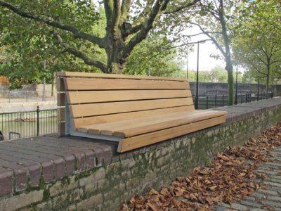 Wall-Top Seats & Benches
