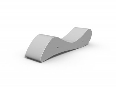 FCP302 Amesbury bench - chaise-longue orientation
