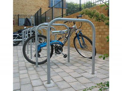 SHE6-7535-75-GA Sheffiled galvanised steel cycle stands