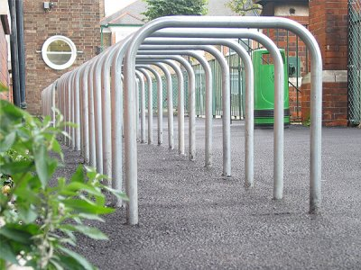 College Galvanised Steel Cycle Stand