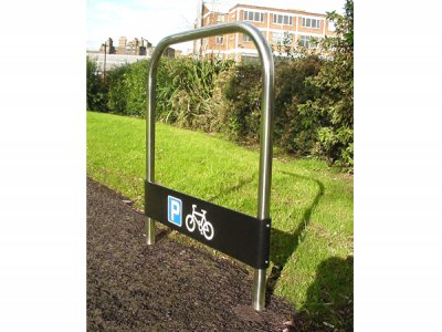 College Stainless Steel Cycle Stand with Tapper Plate