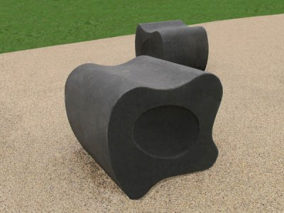 DRK2 Drakon Form lI concrete seating block