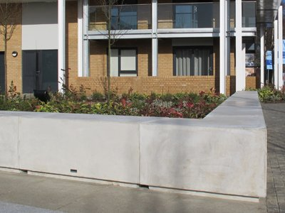 Concrete Planter, as supplied to Cromwell Road
