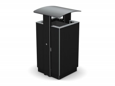 ARC 8 - PPC Arca litter bin with lid