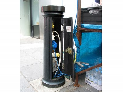 DOR500ME Doric Major Service bollard - electrical version