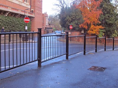 Linx 300 full guardrail, with Euston cap