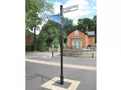 Guildford Fingerpost, FFB3 Ball Finial
