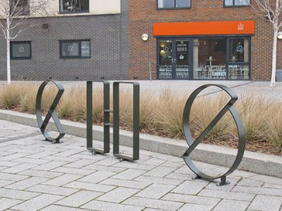 Letterform Cycle Stands C,H & S