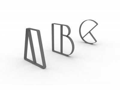 Letterform Cycle Stands A, B & C