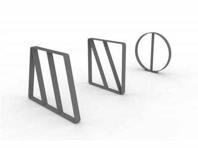 Letterform Cycle Stands M, N & O