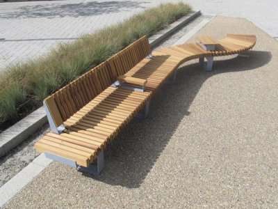RailRoad modular street furniture