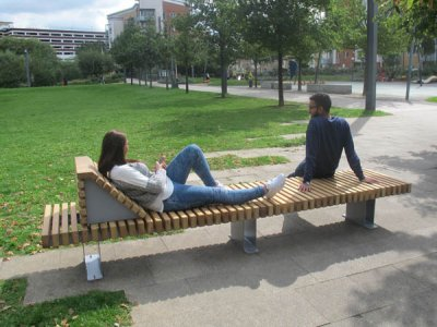 RailRoad Edge outdoor seating