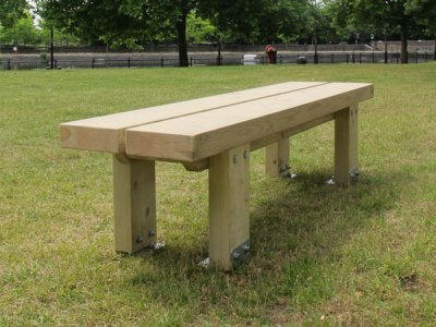 Stark Bench with Double Slat