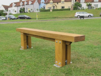 Stark Bench with Single Slat