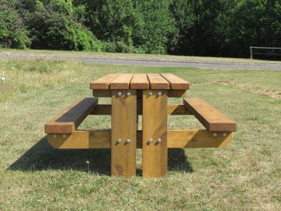Stark Picnic Table in-ground