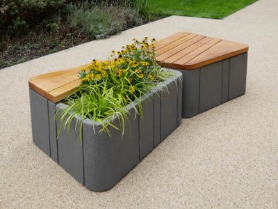 Uniun® Combined Seating & Planter