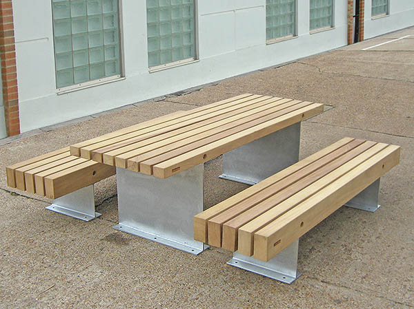 Fordham Picnic Tables Benches Heavy Duty Robust - Timber picnic table