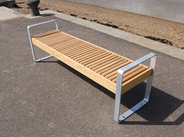 Elements Open Frame Bench Seat