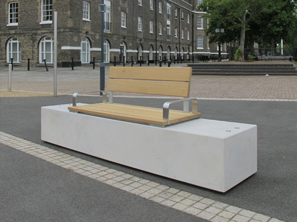 Fortis Seat Amp Bench Concrete Amp Timber Public Seating