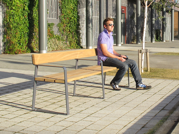 Ribbon Seat Conservatively Styled Outdoor Seating