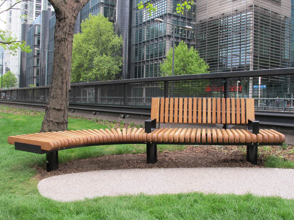 Railroad Loop Straight Amp Curved Outdoor Benches Amp Seats