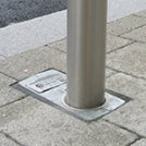 F1 Sockets Series For Removable Bollards