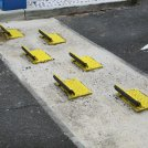 One Way Traffic Flow Plates
